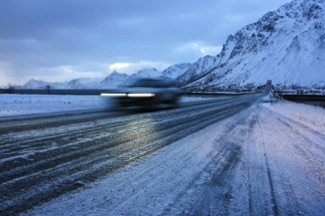 Lofoten, winter